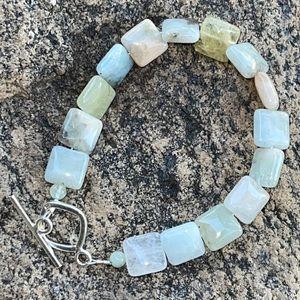Sundance Green Quartz Sterling Silver Bracelet